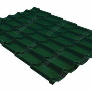 Metallocherepicza klassik 045 Drap RAL 6005 zelenyj moh