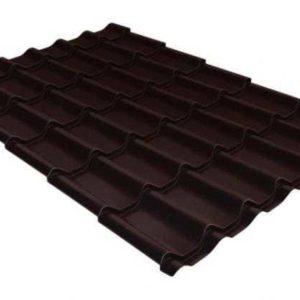 Metallocherepicza klassik 045 PE RAL 8017 shokolad